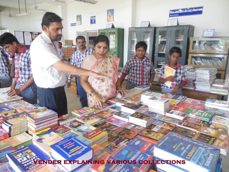 Book Fair in KV Gopalpur Library